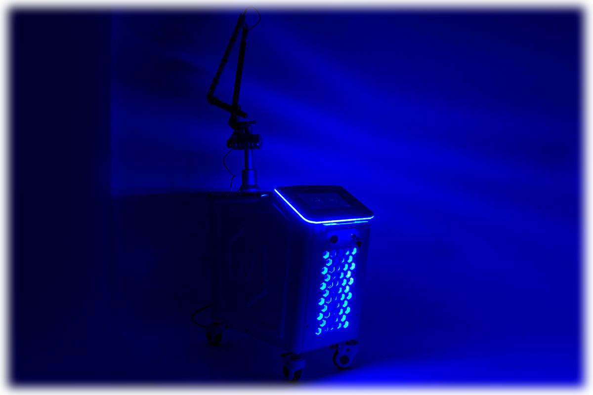 Неодимовый короткоимпульсный лазер для удаления тату Pulsar TL-600 Neo+