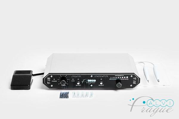 Electrocoagulation and electroepilation beauty machine T-18